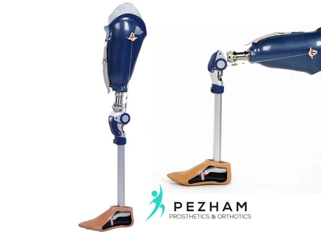 زانوی قفل دار یا دستی.قطعات پروتز پا