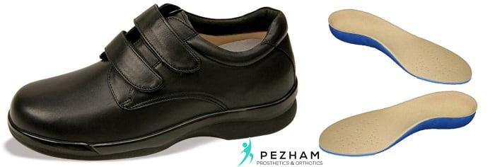 کفش طبی و کفی طبی.زخم پای دیابتی.درمان زخم پای دیابتی