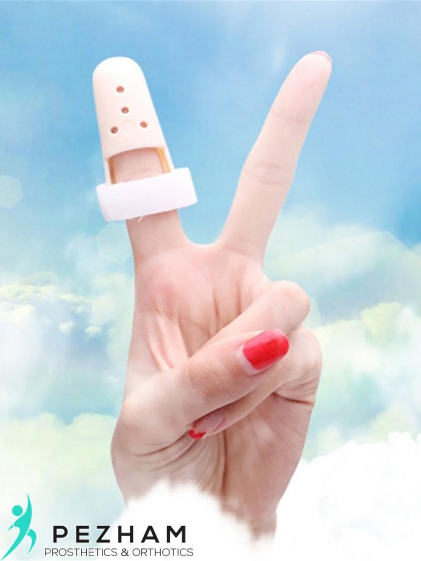 انگشت چکشی دست