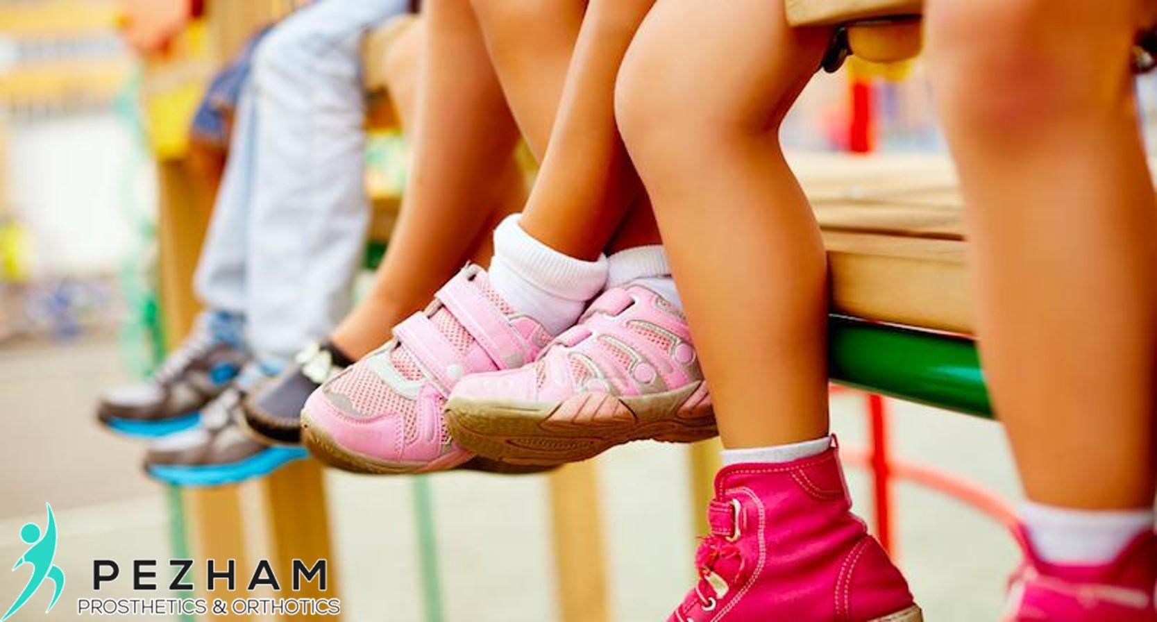 کفش طبی.زانوی ضربدری