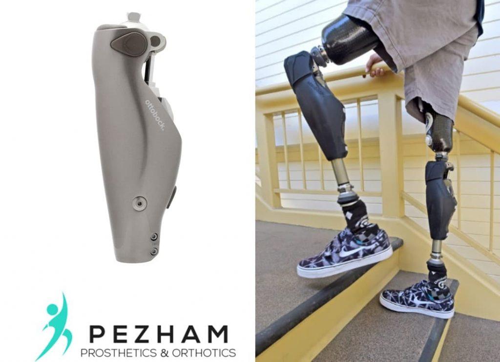زانوهای پروتزی هوشمند.قطعات پروتز پا