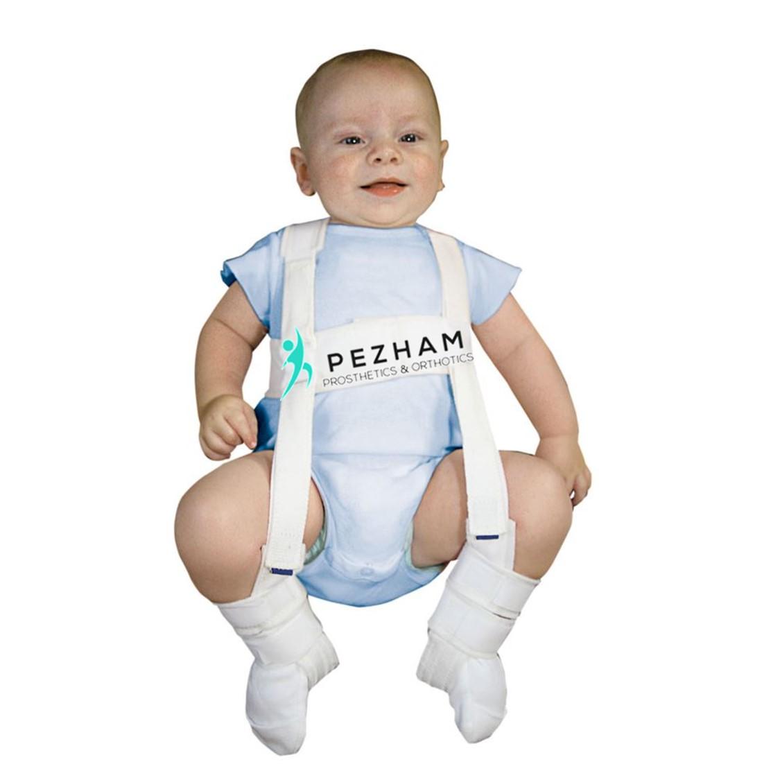 کمربند مخصوص دررفتگی مادرزادی لگن در نوزادان
